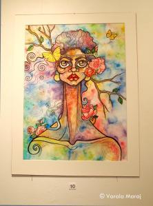 'Criatura' (Watercolours & pen)