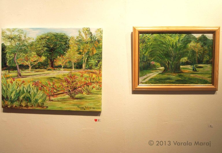 'Botainc Gardens' (2013) & 'Golf Course - Chaguaramas' (2011)