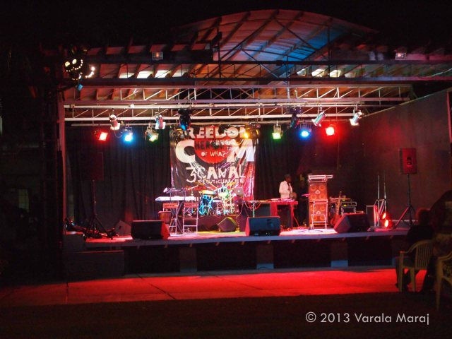 3 Canal's Freedom.com stage, Normandie Hotel, Trinidad (31 July 2013)