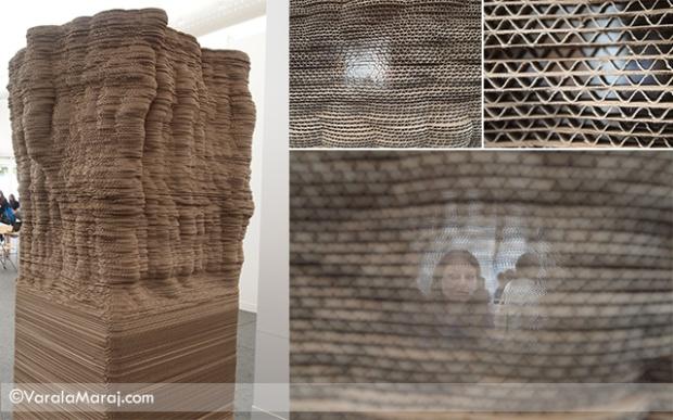 cardboard installation frieze london 2013