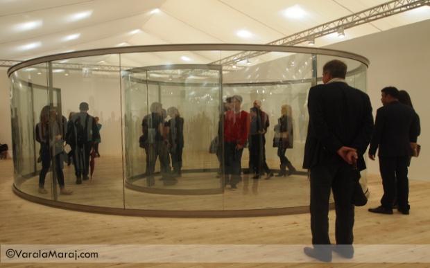 glass installation graham frieze art fair london 2013