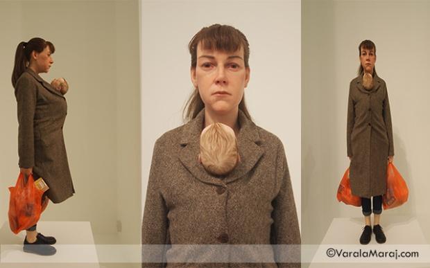 woman with shopping frieze london 2013
