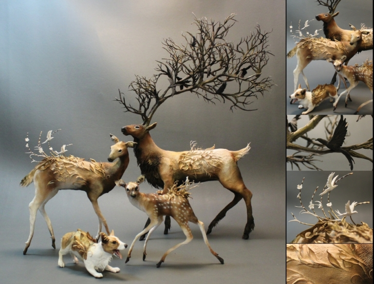 'Deer Family'