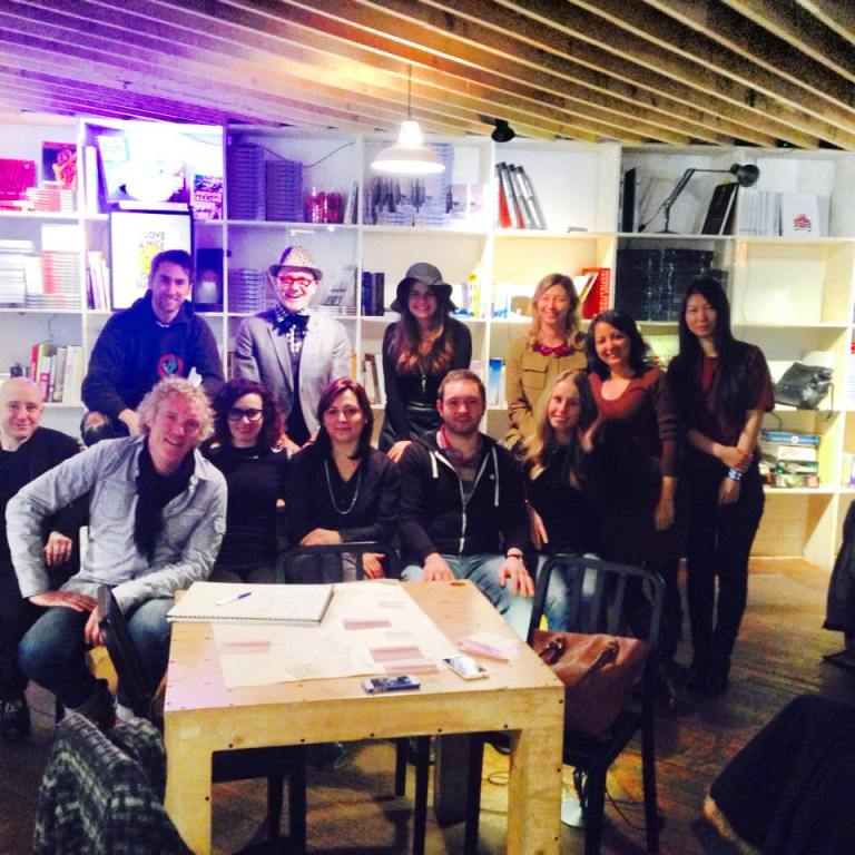 'Hipster'-themed event during Cass Business School's 2015 Marketing group's Away Day. The event was organised by Stephanie and Ko de Ruyter, Maastricht University Professor and Cass Business School Research Professor.